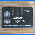 New Saleae Logic16 Saleae16 USB 100M Logic Analyzer ARM FPGA Decoder Tool 1.2.10 Version