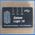 Novo USB 100 M Analisador Lógico Saleae Logic16 Saleae16 FPGA BRAÇO Ferramenta Decodificador 1.2.10 Versão