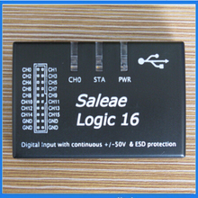 New Saleae Logic16 Saleae16 USB 100M Logic Analyzer ARM FPGA Decoder Tool 1.2.10 Version(China)