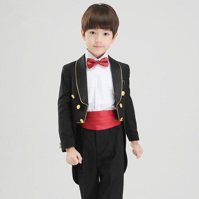 e6d26a9d4 Boy Dress Wedding (Coat+Pants+Tie+Shirt) BF813 Custom Made ...