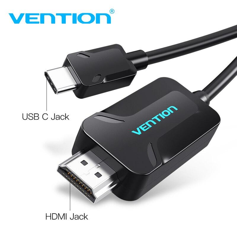 Tions USB C HDMI Kabel Typ C zu HDMI Adapter für MacBook Samsung Galaxy S8 + Huawei Mate 10 Pro p20 Pro Thunderbolt 3 Unterstützung