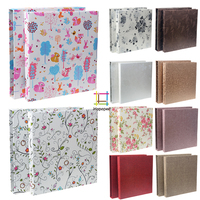 High Capacity Cloth Paper Interleaf Photo Album Scrapbooking Wedding Baby Floral Photo Album