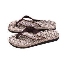 1a8dfd690 2018 New Fashion High Quality Men Summer Soft Casual Men Flat Wedge Sandals  Thong Flip Flops Slippers Beach Stylish EVA Outdoor