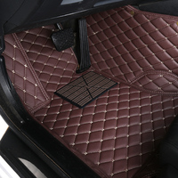 Auto car floor Foot mat For Mitsubishi pajero sport 4 grandis lancer outlander xl 2017 2013 car accessories waterproof carpet