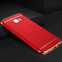 Yuetuo Роскошные ударопрочный жесткий пластиковый чехол для телефона, coque, крышка, чехол для Samsung Galaxy S6 S6 Edge Plus s 6 s6edge аксессуары