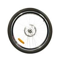 26 Bike Wheel with tire and tube for MTB Mountain Bike Road Bike Bicycle Quick release Hub Spoke Reflector
