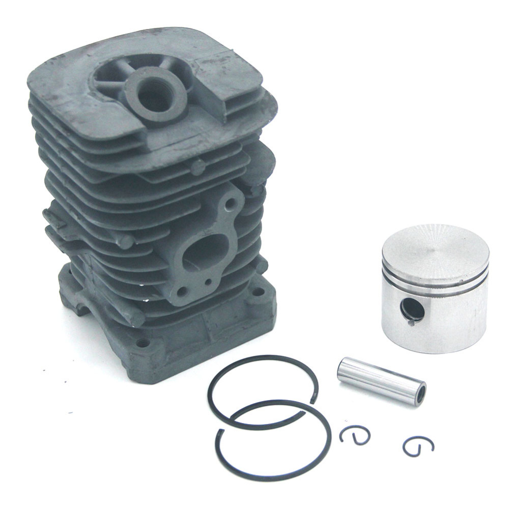 Cylinder Piston Kit 41.1mm For Poulan Gas Chainsaw 1900 1950 1975 2025 2050 2055 2075 2150 2150Pr 2175 2250 2375 S1634 S1838LE