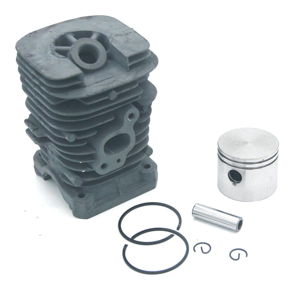 Cylinder Piston Kit For McCulloch 333 444 M3414 M3414N M3416 M3816 M4218 Mac 2214AV 2316AV 2416AVT 2618CAV Mac Cat 338 435 436