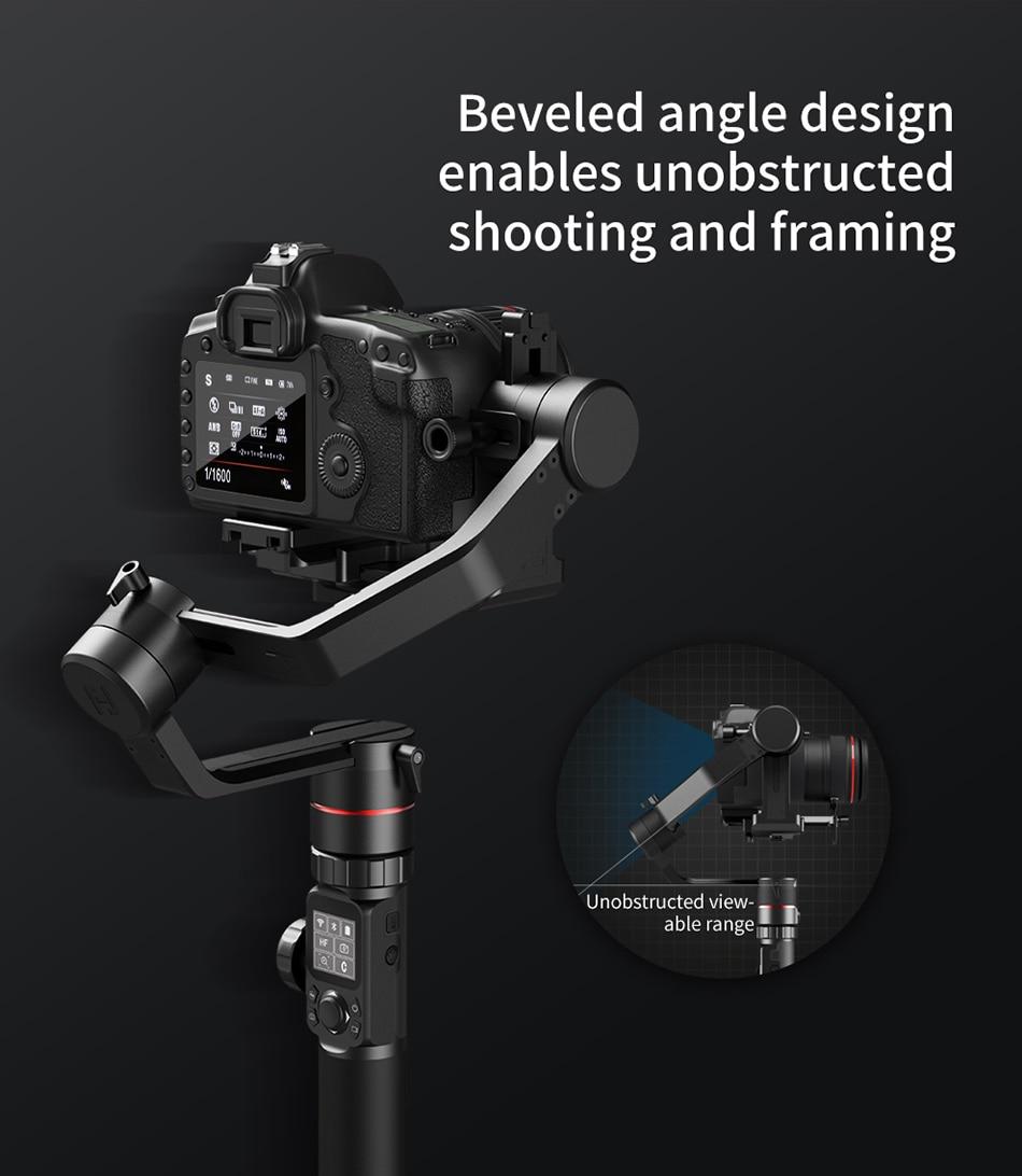 Feiyutech Feiyu AK4000 AK00 3-Axis DSLR Stabilizer Follow Focus Handhel Video Gimbal for Sony Canon Panasonic Nikon cameras 6