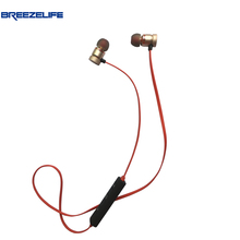 Sale Breezelife Earphone Bluetooth Headphones Wireless Headphones Microphone Stereo Sport MP3 for Xiaomi Bluetooth Headphones