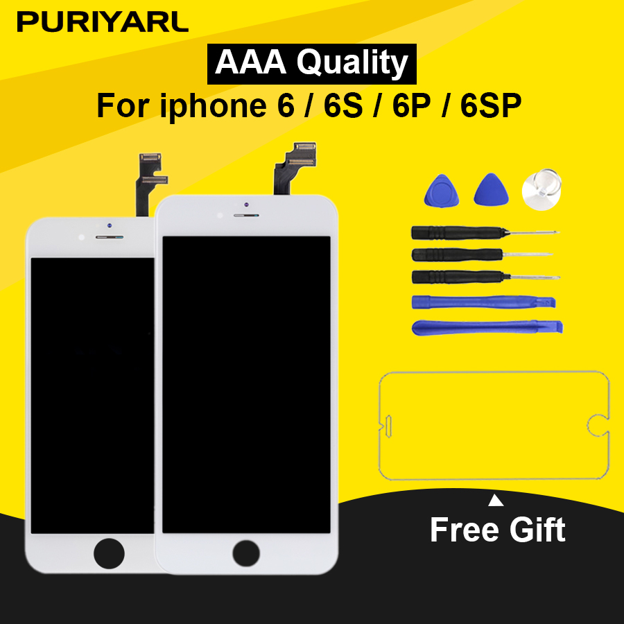 AAA Retina LCD Ecran For iPhone 6 6 Plus 6s Display Complete Screen 6s Plus LCD 3D Touch Screen Digitizer Assembly ReplacementAAA Retina LCD Ecran For iPhone 6 6 Plus 6s Display Complete Screen 6s Plus LCD 3D Touch Screen Digitizer Assembly Replacement