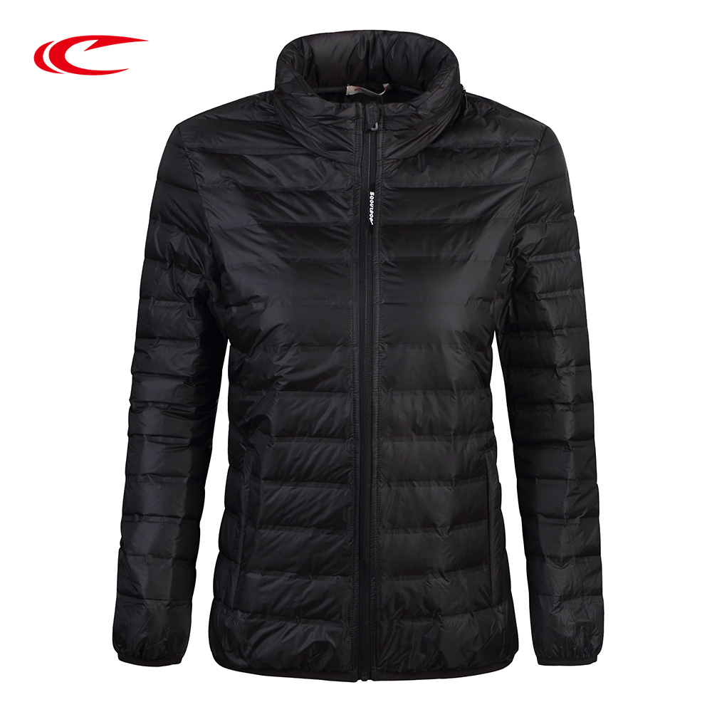 SAIQI Spring Autumhn Ultra Light Women Down Jacket Female sport Outdoor Thin Jacket Warm Coat 257504922 saiqi 2017 new winter warm light down women ultra light 80% white duck down jacket short hiking outer coat female jacket 1016