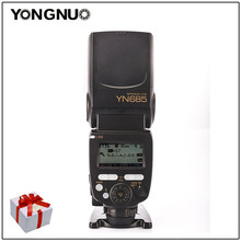 Yongnuo YN685 YN-685 GN60 2,4G System i-TTL HSS Drahtlose Blitzgerät mit Radio Slave Für Nikon D5/D4S/DF/D3X DSLR Kameras