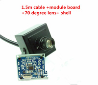 With Shell Hd USB Industrial Hardware 300000 Pixel Camera Module Circuit SDK OV7725 640x480 CMOS For