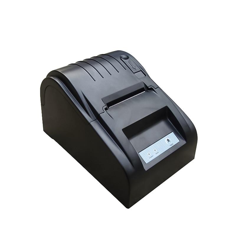 ZJ- 5890T 58mm Thermal Printer Ticket POS Thermal Receipt Printer USB Port Restaurant Supermarket Bill Printer