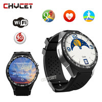 S99C Android Montre Smart Watch 512 MB + 4G 1G + 16G MTK6580 Quad Core 1.39