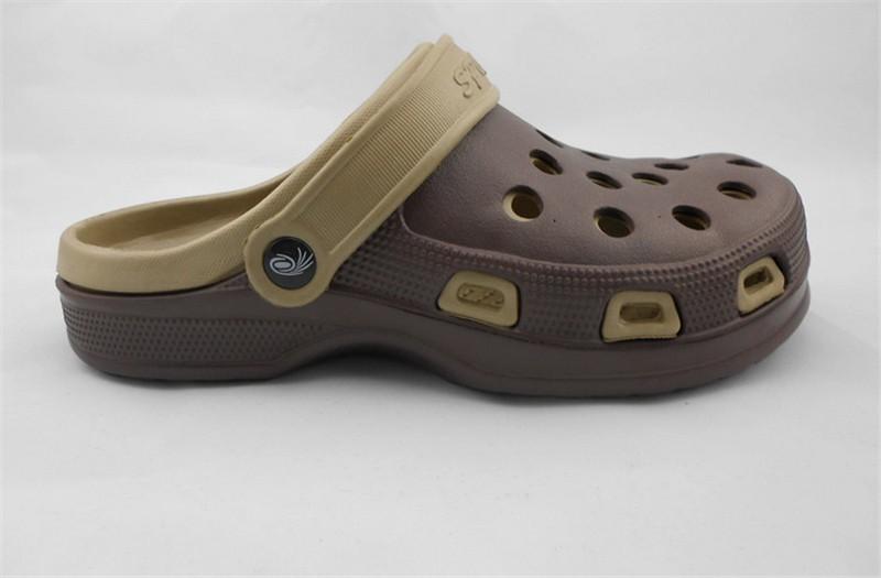 New Arrival Men Garden Shoes EVA Beach Slippers For Men Breathable Anti-slip Bottom Summer Shoes HSA20  (9)