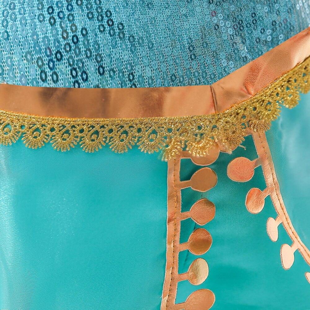 Toddlers Arabian Princess Aladdin Dress up Costume  5