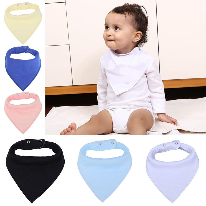 Supply Nursing Cotton Toddler Infant Baby Dribble Bib Triangle Towel Saliva Towel Baby Burp Cloths