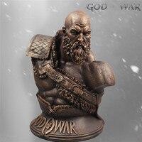 God War 4 Statue Kratos 1:3 Ghost Sparta Bust Son Zeus resin imitation copper white mold pendulum model