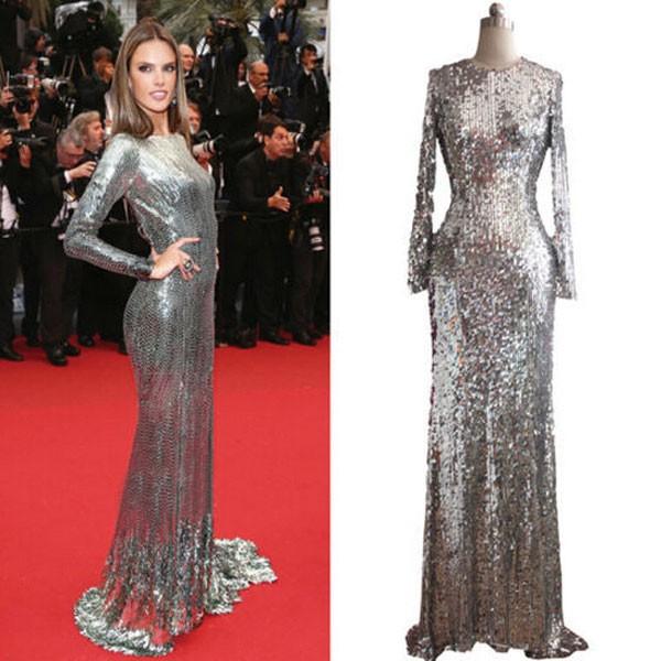 long celebrity dresses