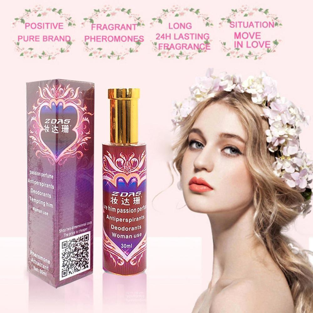 30ML Pheromone Perfume Aphrodisiac Woman Orgasm Body Spray Flirt Perfume Attract Girl Scented Water For Men Lubricants For Sex