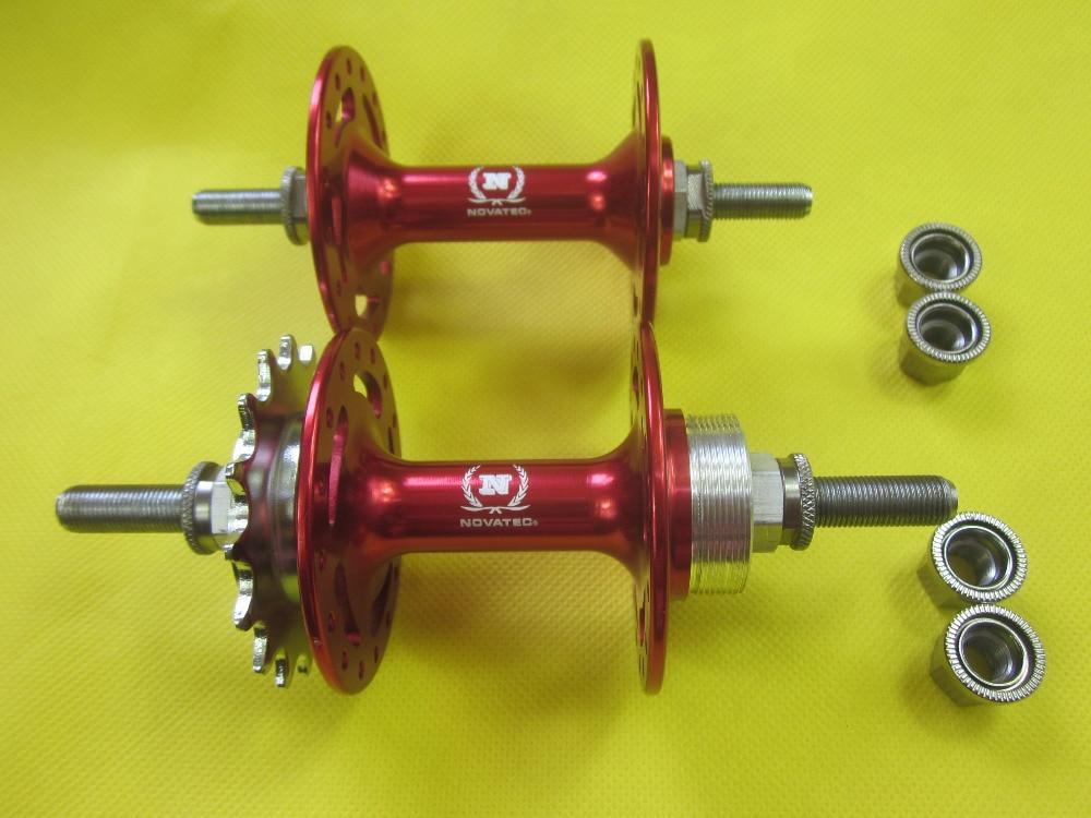 NOVATEC track Fixed Gear front hub 32h