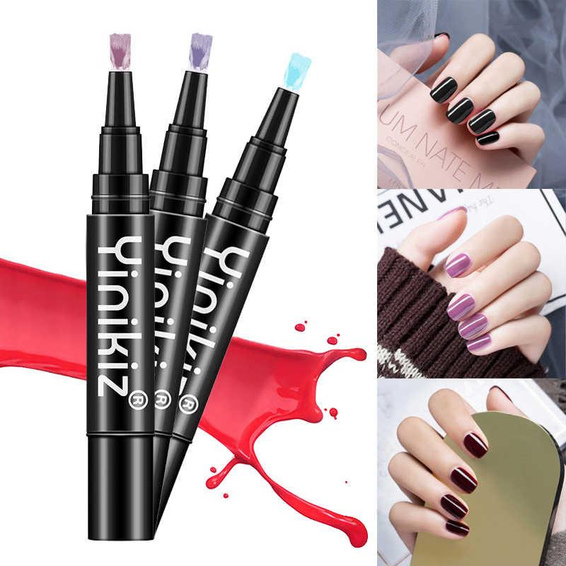 ELECOOL żel brokatowy do paznokci lakier ołówek jeden krok lakier żelowy UV długopis nie ma potrzeby bazy warstwa wierzchnia długotrwały żel do paznokci TSLM2