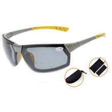 TH6157PGSG Eyekepper TR90 Unbreakable Sports Polycarbonate Polarized Bifocal Sunglasses