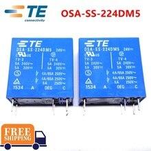 10PCS TE TYCO Relay OSA SS 224DM5 24VDC relay Brand new and original