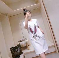 2018 New High Quality Fashion Dress Runway Dresses Summer Womens Brand Luxury Dress Women S Clothing