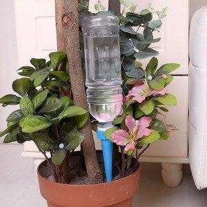 Image 4 - 10 pz/set Installato Automatico di Irrigazione Spike Pratico di irrigazione Sprinkler Pianta Fiore Waterers Bottiglia Sistema di Irrigazione del Giardino
