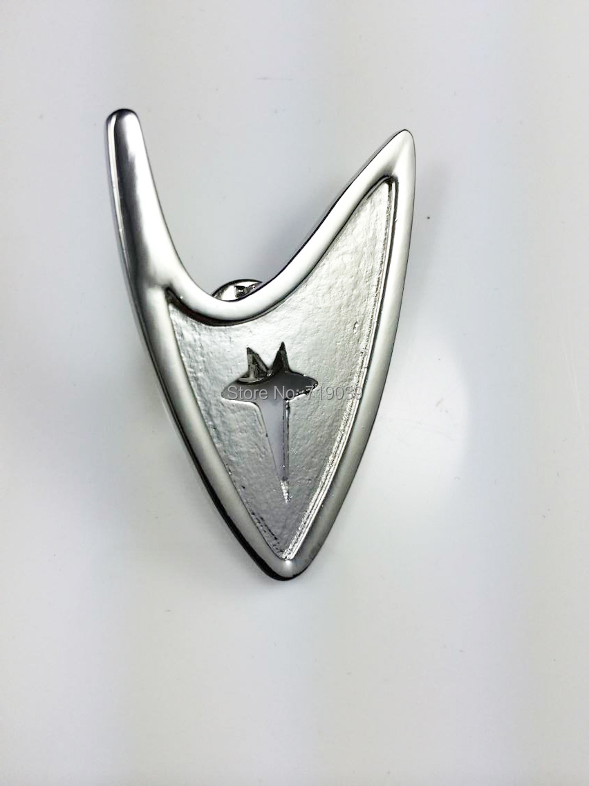 Jewelry Sets & More Brooches Have An Inquiring Mind 20pcs/lot Wholesale Fashion Jewelry Silver Charm Star Trek Brooch Star Trek Pin Science Brooch,original Factory Supply Reliable Performance