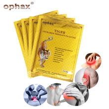 OPHAX 16pcs/2bags Tiger Balm Chinese Herbs Medical Plasters For Joint Pain Knee Neck Curative Plaster Shoulder Back Patch