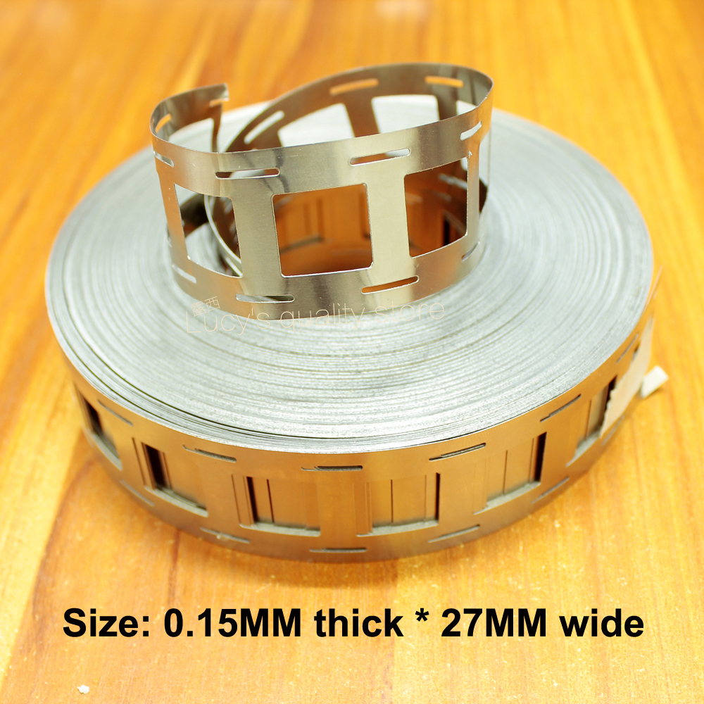 1kg 2 and 2 string 18650 lithium battery spot welding nickel sheet connection piece 0 15MM