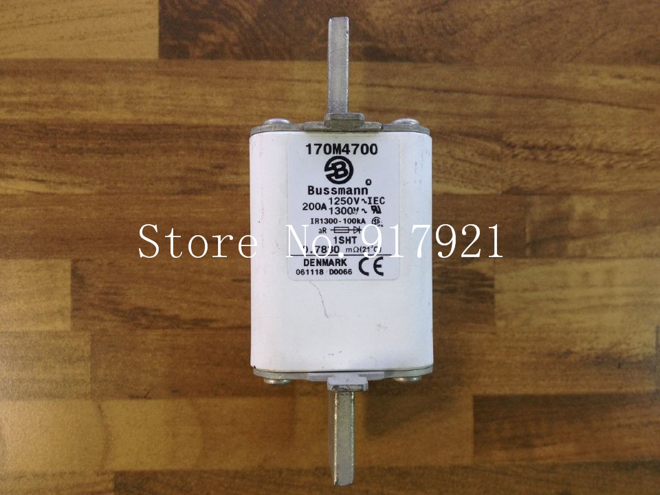 ФОТО [ZOB] The United States Bussmann 170M4700 200A 1250V fuse fuse original authentic  --2pcs/lot