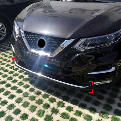 Stainless Steel Front Bottom Bumper Lid Cover Trim 1pcs For Nissan Qashqai 2018|Chromium Styling|   - AliExpress