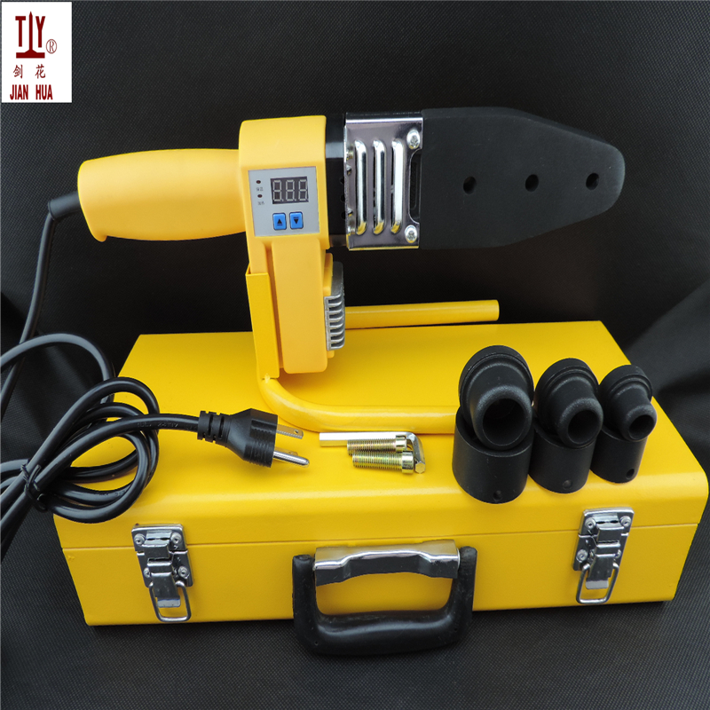 Grade A New 20-32mm 110V AC plug 800W machine for welding pvc pipe ppr tube welder with digital display device for plastic цены
