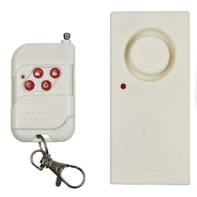 Anti Theft Vibration Shock Sensor Alarm Wireless Door Window Car Motorcycle House Safety Home Security Alarm System 10