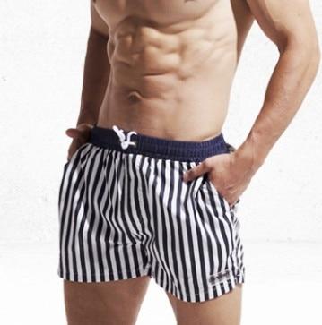 Calções de Praia dos Homens Shorts de Banho Roupa de Banho Homens de Boardshorts da Ressaca para Homem Desmiit Listras Swim Curto Placa Mar Maiô Desgaste