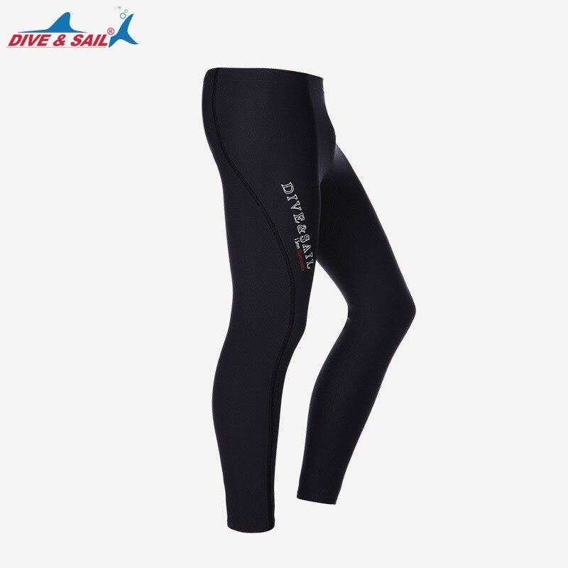 3mm Wetsuit Pants Men's / Women's Swimwear Swim 3mm Neoprene SCR Black Swimming Diving Scuba Surfing Leggings Tights S to 3XL