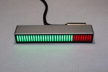 32 مستوى مؤشر مستوى التحكم في الصوت أحادي لوحة الطيف الصوتي AGC لمضخم MP3 VU مكبر الصوت DIY DC5V