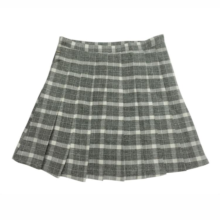 Image 5 - New Spring High Waist Plaid A line Skater Skirts Harajuku Tutu Skirt Japanese School Uniform Kawaii Harajuku Mini Pleated Skirt-in Skirts from Women's Clothing