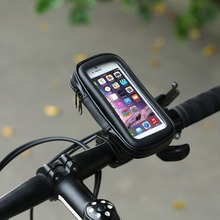 2017 Waterproof Bicycle Bag Bike Mount Holder Case Bicycle Cover For Mobile Phone Bicycle Accessories Handlebar Holder Newest