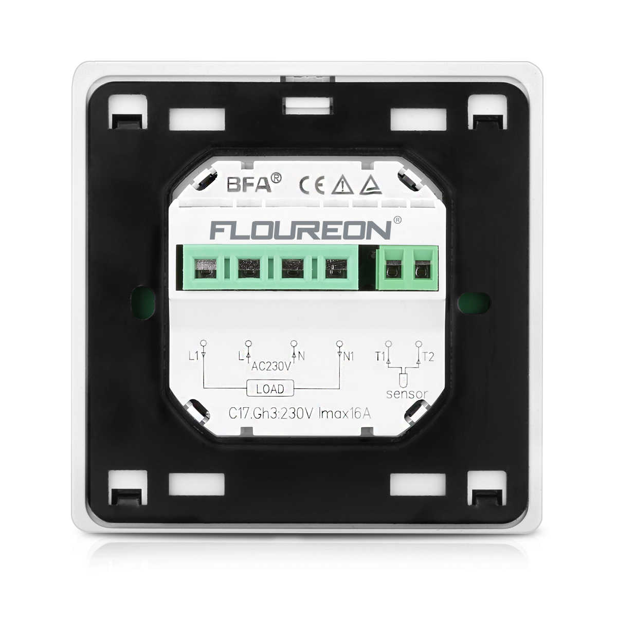 WIFI תרמוסטט LCD מגע מסך טמפרטורת בקר רגולטור תכנות חימום טרמוסטט רצפת חימום חשמלי דוד