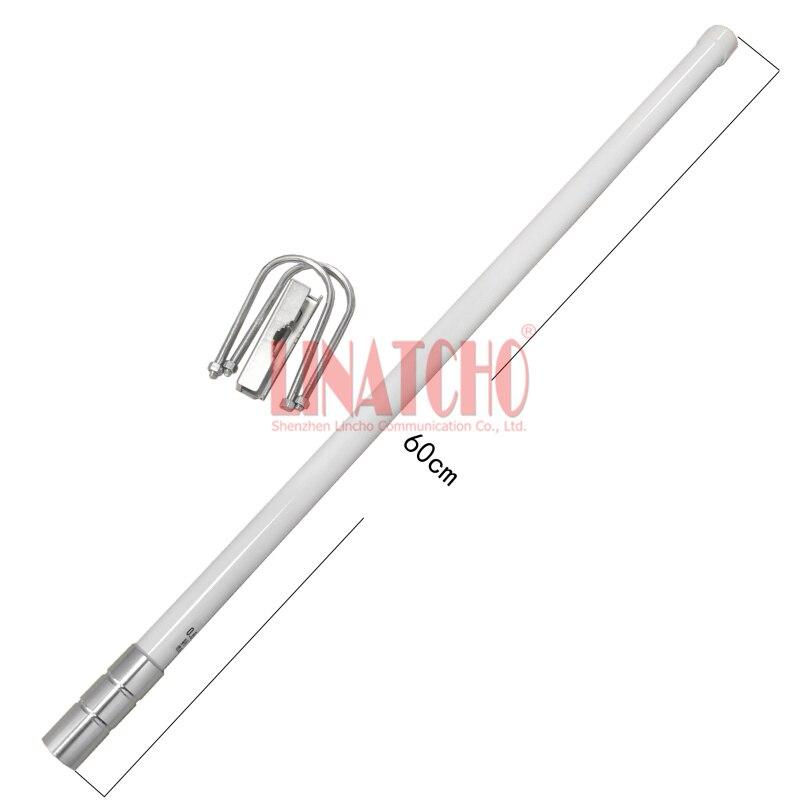 60 cm N connecteur mâle multi bande 806-960/1710-2700 MHz antenne omnidirectionnelle en fibre de verre 4G