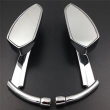 8mm 10mm Motorcycle Handlebar Thread Rearview Rear View Side Mirrors For Suzuki