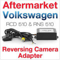 Aftermarket RCD510 RNS510 RNS315 VW Камера Заднего Вида А. В. CVBS, чтобы RGB Адаптер Заднего вида Парковки Плагин Golf Jetta MK5 MK6 Passat