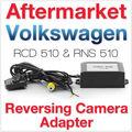 Aftermarket RCD510 RNS510 RNS315 VW Reversing Camera AV CVBS to RGB Adapter Rear View Parking Plug Golf Jetta MK5 MK6 Passat