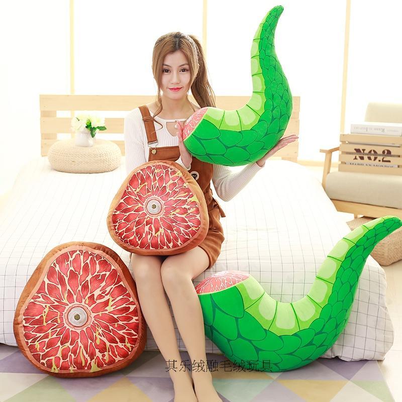 New Arrive Anime Kobayashi-san Chi No Maid Dragon Plush Toy Dragon Tail Pillow Cushion 2017